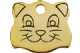 Red Dingo Brass Cat Tags